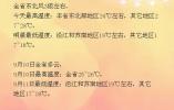 未来三天江苏全省天气以多云为主 明晨最低温度17℃左右