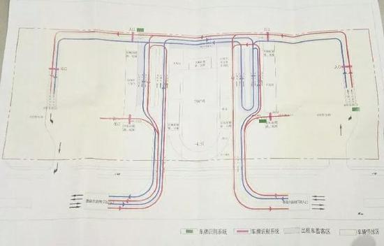 ▲规划后的运行线路图