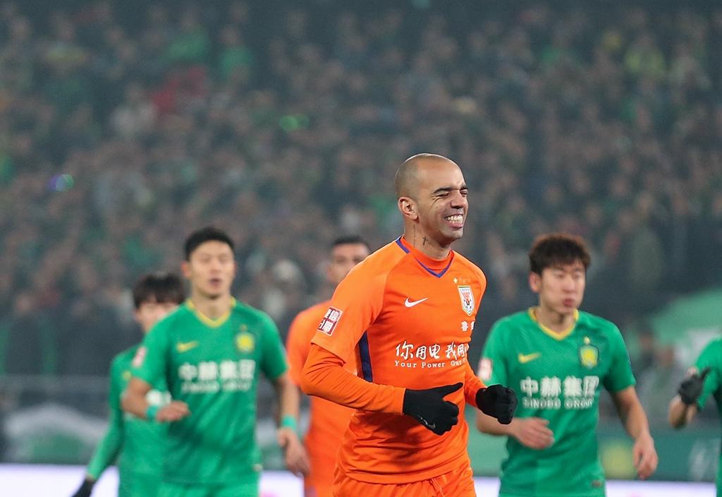 足协杯决赛首回合:北京战平鲁能
