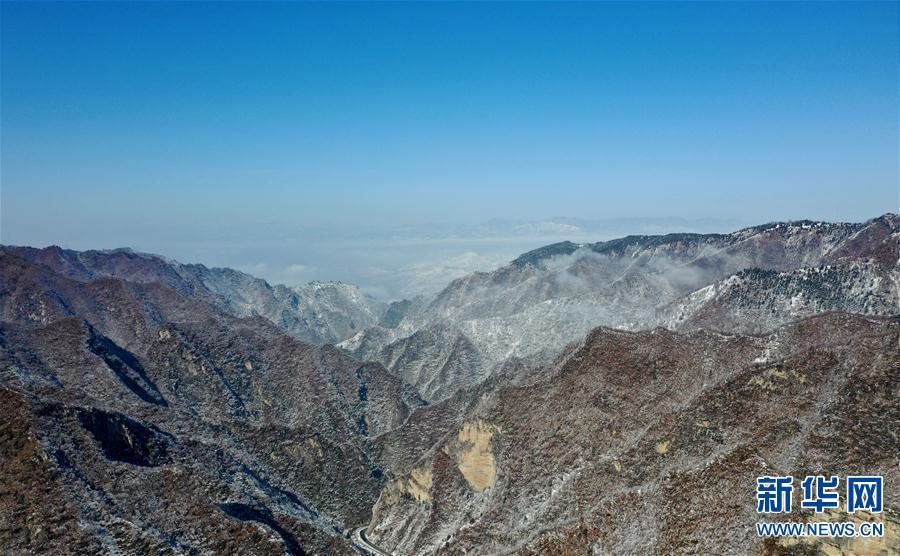 (环境)(1)雪后豫西 风景如画