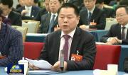 全國政協委員丁佐宏作為工商聯界代表發言