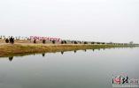 石家庄:滹沱河生态修复工程美景初显