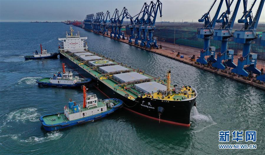 (经济)(1)河北曹妃甸港区1至7月货物吞吐量同比增长6.93%