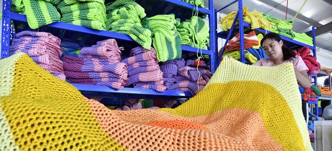 山东惠民:绳网产业助增收