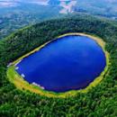 阿尔山火山天池