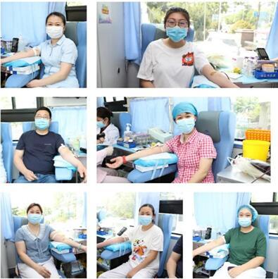 「青岛六医」无偿献血大爱显 众志成城为健康——青岛六医开展无偿献血活动