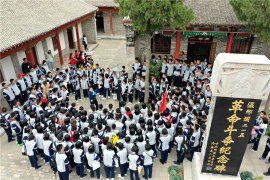 河南内黄:传承红色基因 培育时代新人