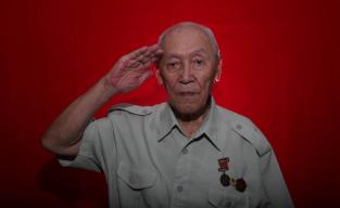 志愿军老战士章成志:在朝鲜四年,我一直住地窨里