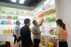 郏县总工会举行农产品展销对接会