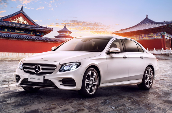 制霸中国市场 奔驰靠的不仅是这两款首发车