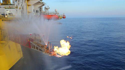 我國海域天然氣水合物試採成功。圖片來自中國地質調查局網站