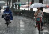 南京明天将遭遇强降雨 或为入夏以来最大一次