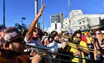 巴西举行反总统示威