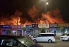 回龙观鑫地市场火灾