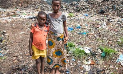 埃博拉肆虐过后的村庄