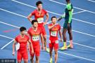 钻石联赛中国男子4*100接力夺冠 创赛季最佳