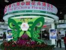 银川:第九届中国花卉博览会展区进入最后阶段