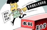 """调查:80.9%受访者支持大学""""严出"""""""