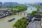 """江苏这条""""母亲河""""曾密布排污管道 现两岸变花园"""
