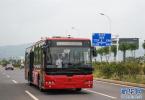 """无人驾驶公交客车上路!乘客:开得就像""""老司机"""""""