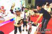 京津冀儿童平衡车大赛在河北廊坊举行