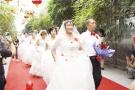 石家庄藁城:穿婚纱 戴婚戒 圆梦红地毯……