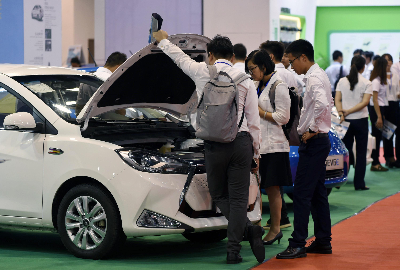 杭州举办第七届国际新能源汽车产业展览会