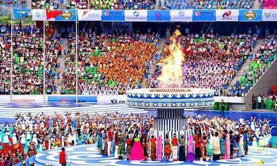 全国少数民族运动会首次在中部省份举办 郑州欢迎您