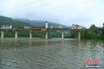 三峡水库水位逼近175米 库区再现平湖美景