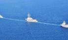 韩海军拉出家底与美航母联合演习