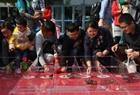 螃蟹赛跑比赛