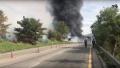 韩国昌原隧道附近油罐车爆炸 3人死亡10车起火