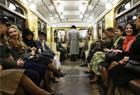 怀念苏联的地铁列车