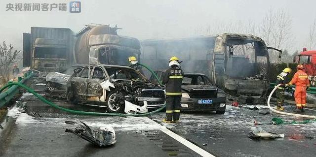 阜阳市安监局通报:滁新高速公路车祸7人死亡,重伤人数不详