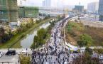 南京河西十樓盤今天搖號定買家 不少企業也來搶房