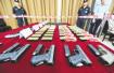 杭州铁警破特大枪案:缴获仿真枪整枪145支,抓获183人