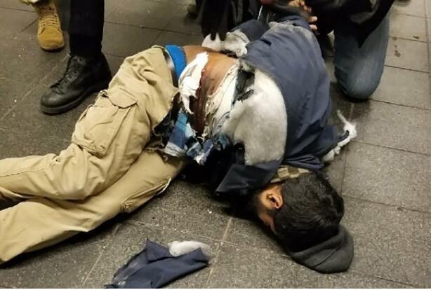 曼哈顿恐袭嫌犯重伤