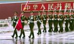 谢谢你们,中国军人