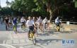 保定清苑28辆共享单车接新娘 创移风易俗环保新风尚