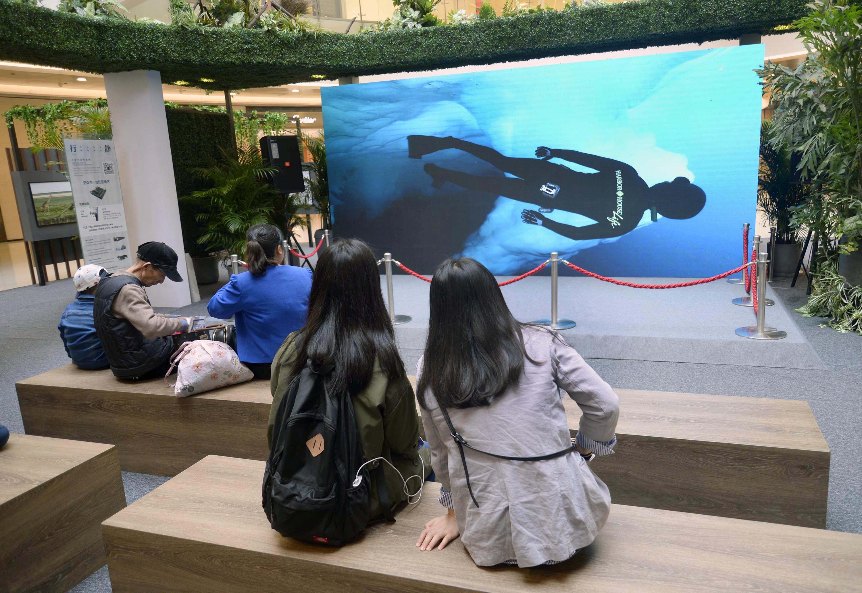 杭州一商场为顾客打造视听休闲区