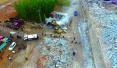 济南南山最大石料厂 4万平米违建一朝被拆除