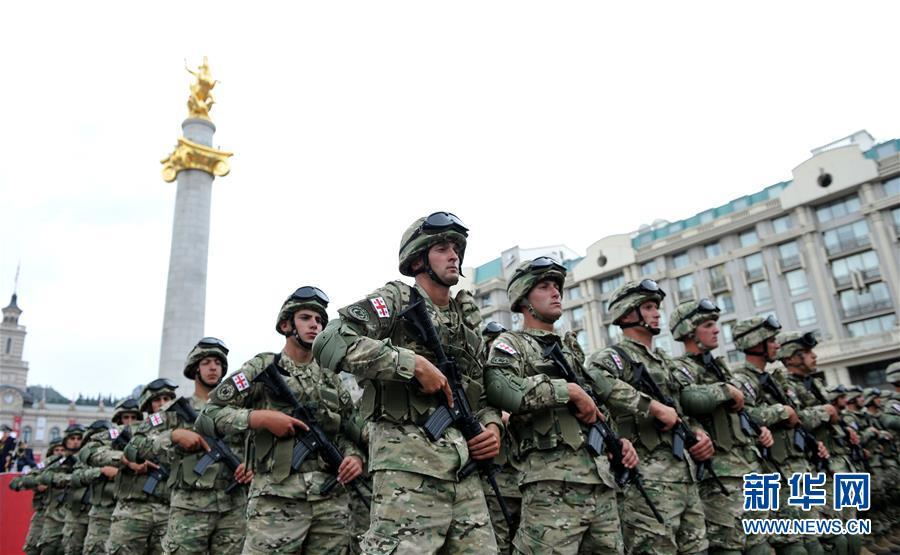 格鲁吉亚军队方阵