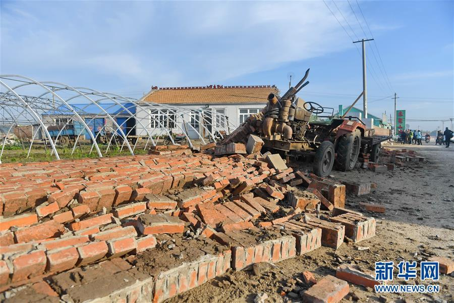 记者实拍松原地震现场