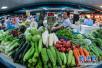 """青岛""""菜篮子""""市场货源充足 价格呈回落态势"""