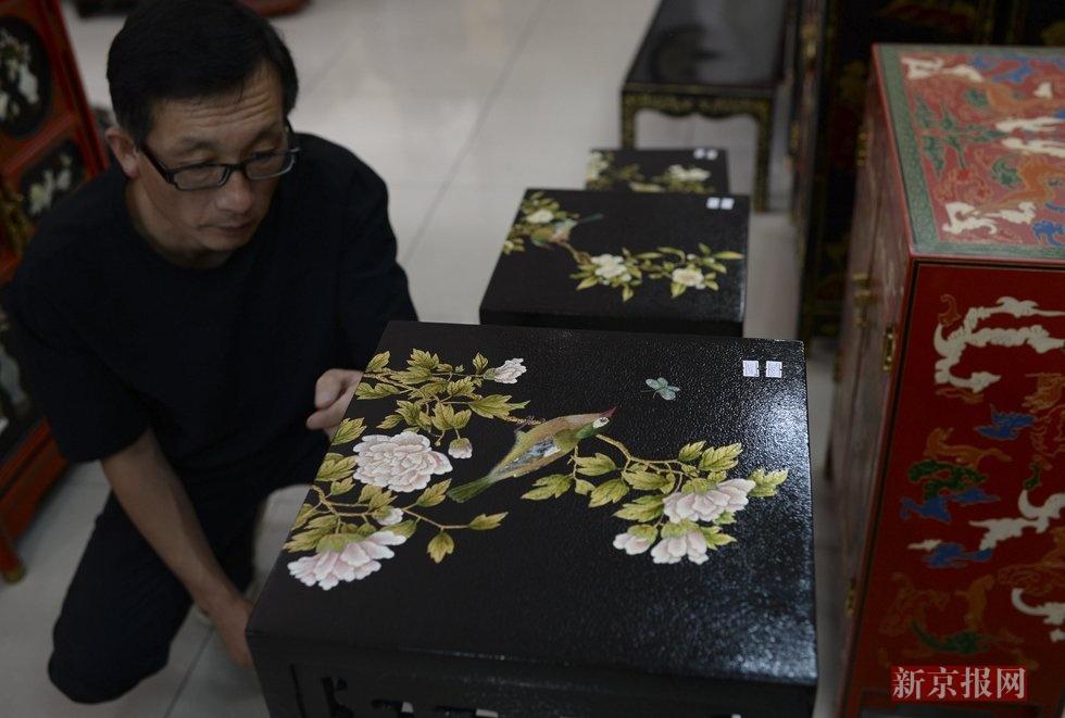 中华漆艺成果展在京开幕