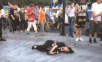 怀疑男顾客没付钱追出店外,杭州一女服务员被当街打成脑震荡