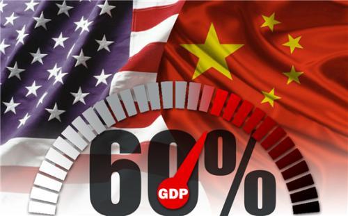 中美贸易创意图 制图:陈锡文