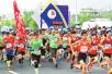 2018郑州龙湖国际半程马拉松赛举行 中秋时节激情开跑