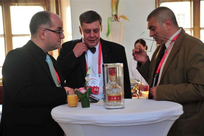 图为在布拉格举行的中国投资论坛现场
