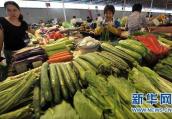 """本地叶菜大量上市 菜市场的""""一元菜""""多了"""
